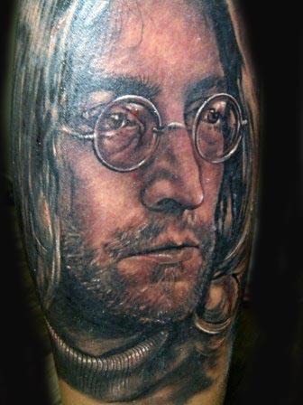 Visiting Artist Alink Kootaishi - Jonh Lennon