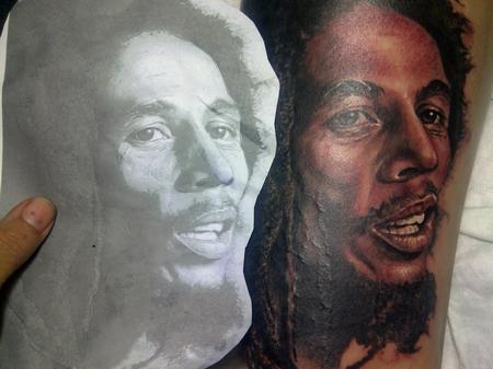 Visiting Artist Alink Kootaishi - Robert Nesta Marley