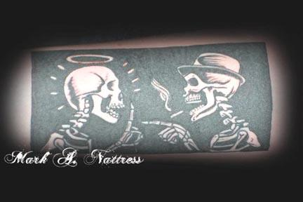 galleries black and gray tattoos skull tattoos blackwork tattoos ...