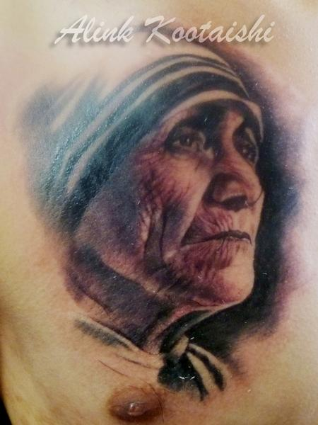 Visiting Artist Alink Kootaishi - Mother Teresa of Calcutta
