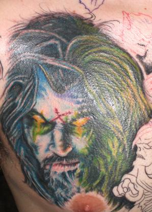 rob zombie by brian gallagher tattoonow