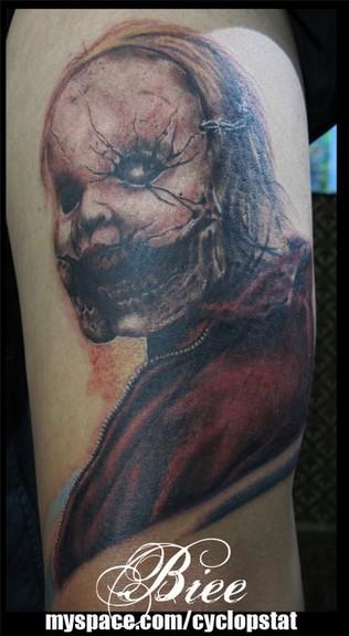 Evil Mask Tattoo Tattoo Design