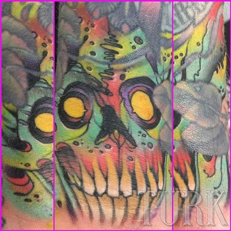Skull Filler Tattoo Design Thumbnail