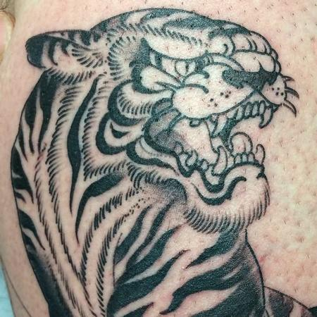 Tiger Tattoo Design Thumbnail