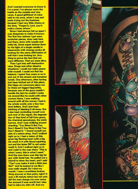 - Tattoo Revue Magazine- Jackson Feature, 1990 - Page 3