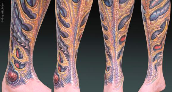 Tattoos - Durb, laser coverup bio - 72526