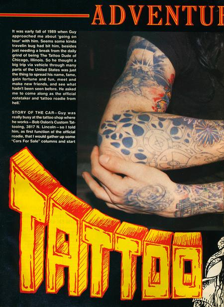- Tattoo Revue Magazine, 1990 - Page 1
