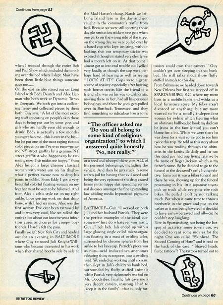 - Tattoo Revue Magazine, 1990 - Page 7