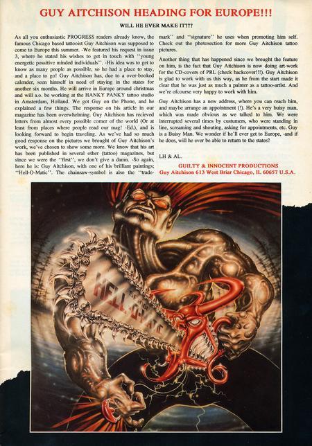 - Progress Magazine, 1992 - Page 1