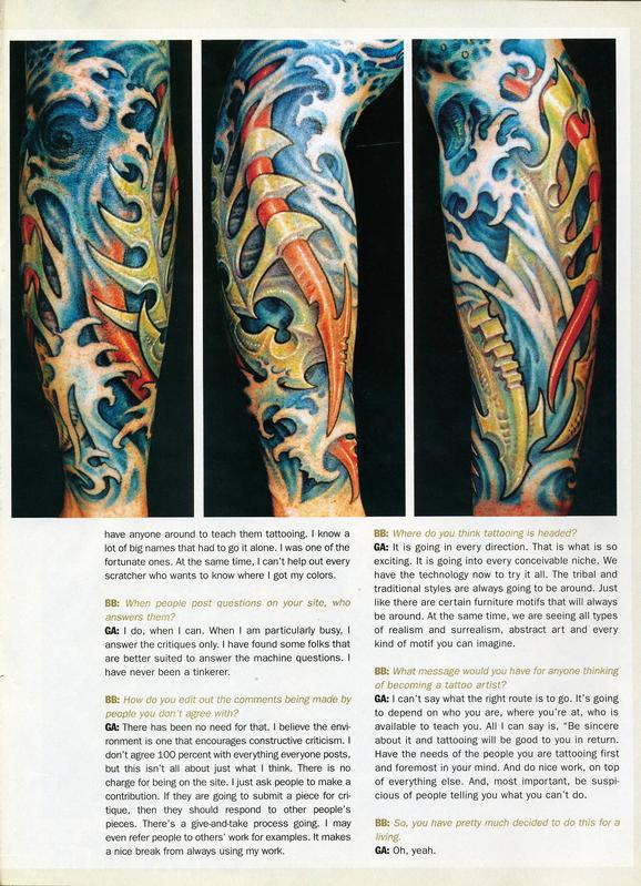 - Skin & Ink feature, 2006, Page 15