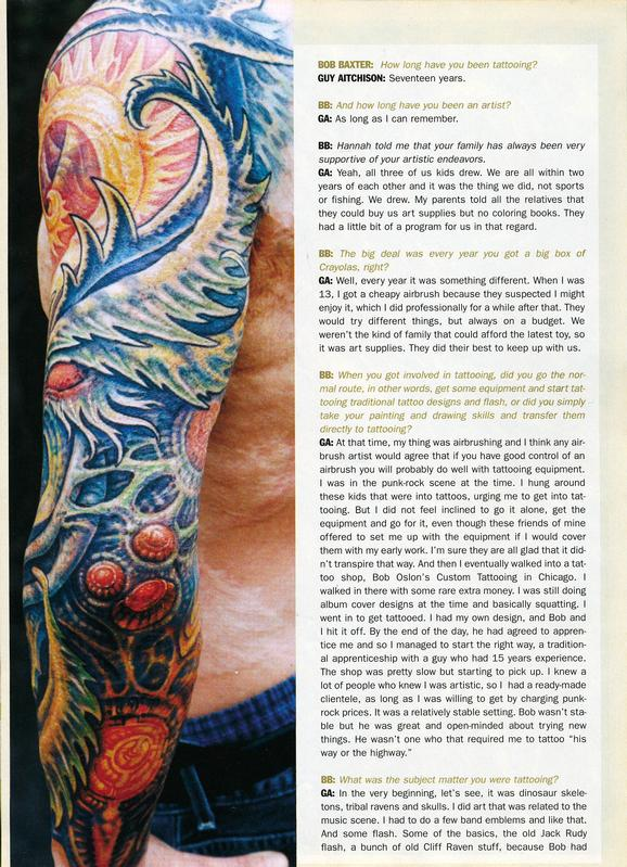 - Skin & Ink feature, 2006, Page 3