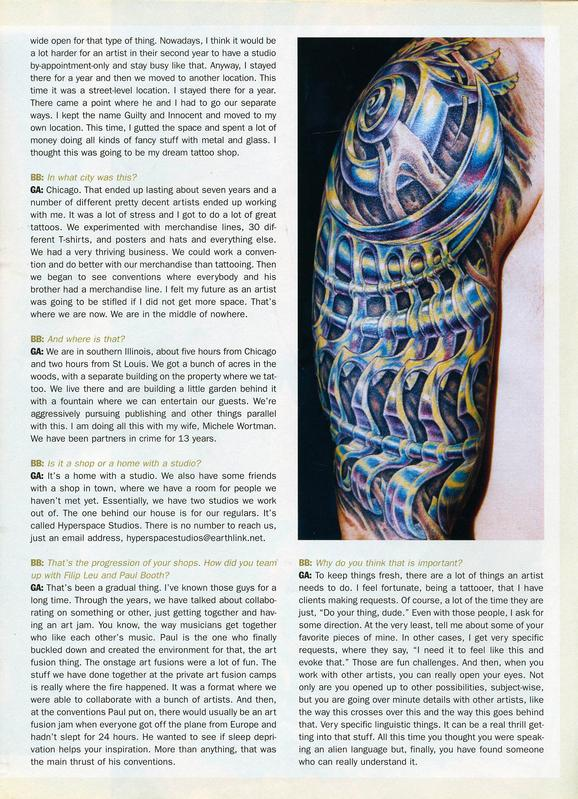 - Skin & Ink feature, 2006, Page 9