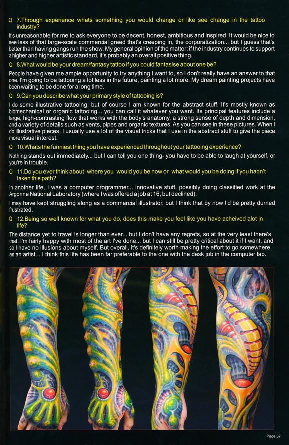 - Custom Tattooz Australia, 2008, Page 3