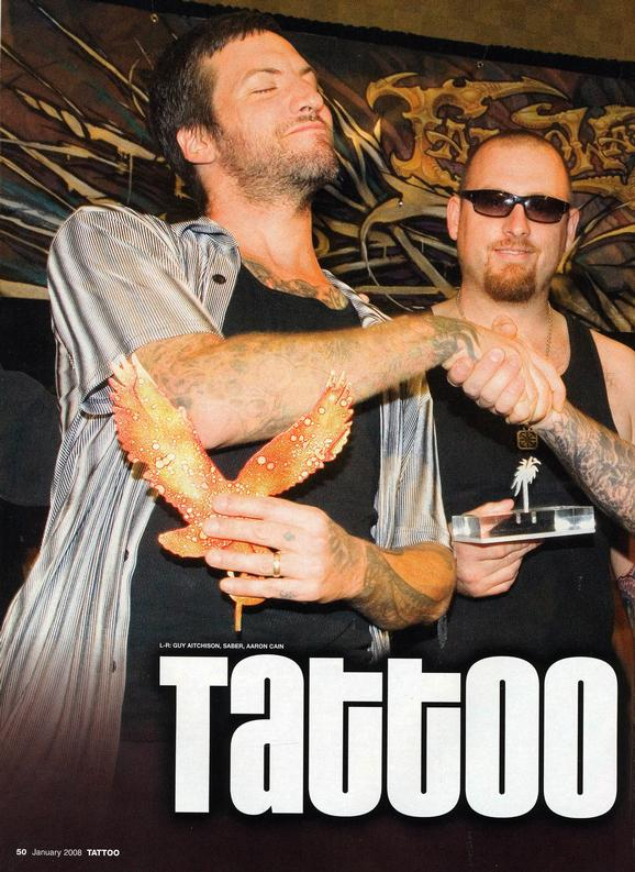 - Tattoo Wars - Tattoo Mag, 2008, Page 1