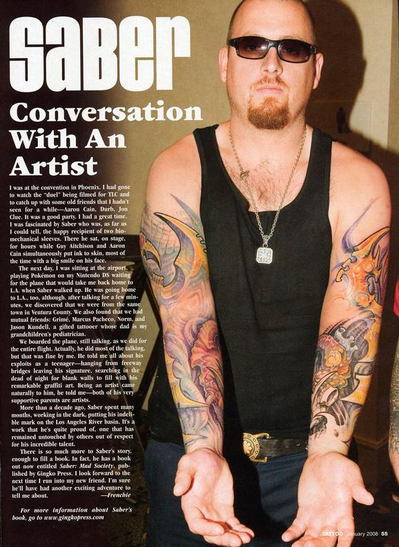 - Tattoo Wars - Tattoo Mag, 2008, Page 6