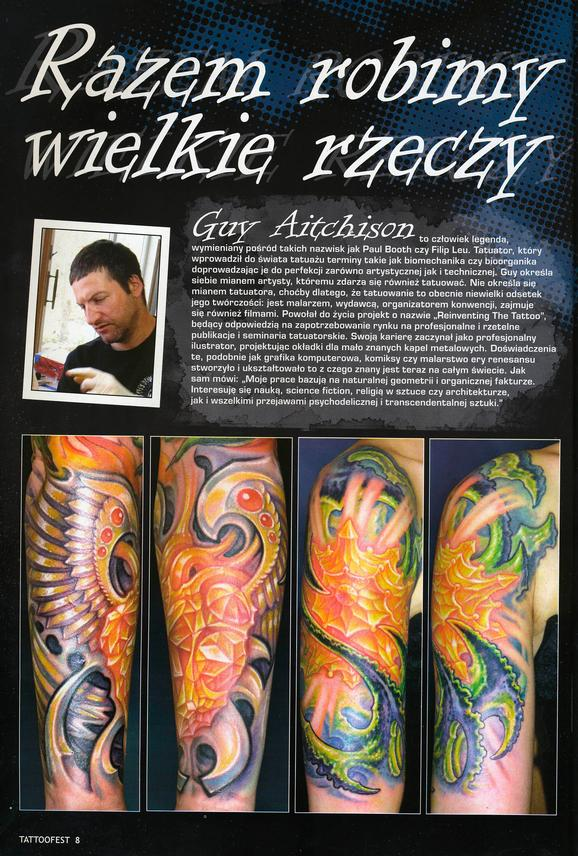 - Poland Tattoofest Magazine, 2009, Page 1