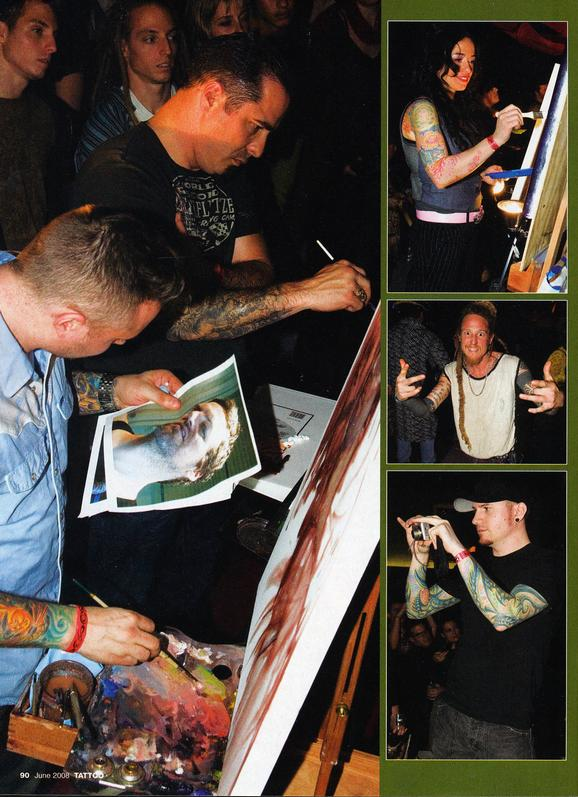 - Tattoo Magazine, 2008, Page 5