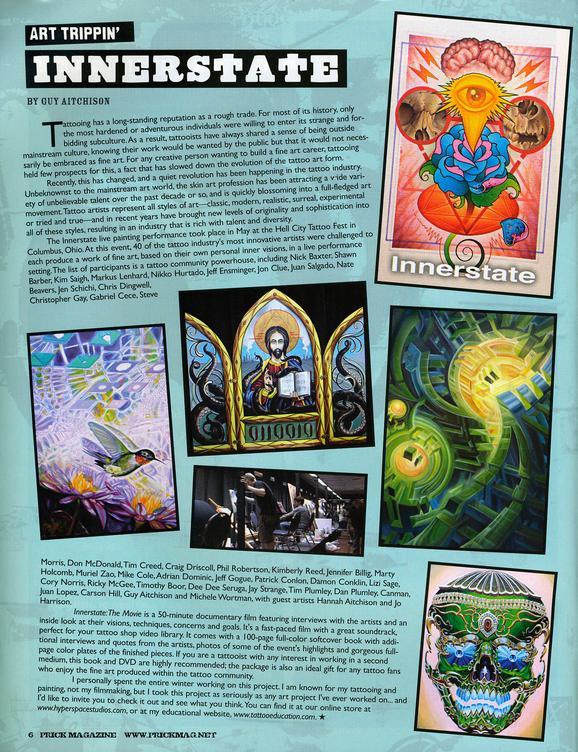 - Prick Magazine, 2010