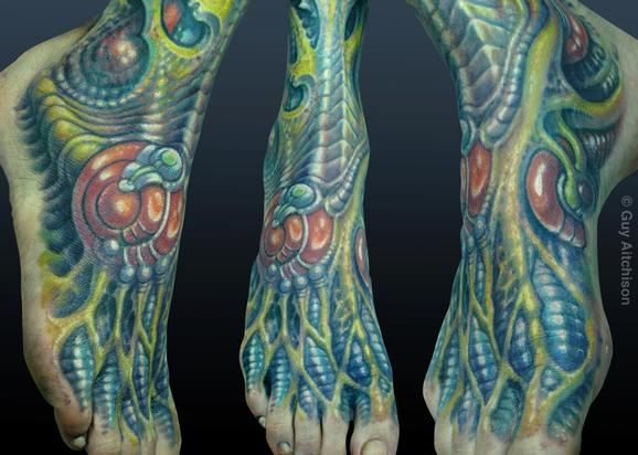 Guy Aitchison - Durb, biomech foot