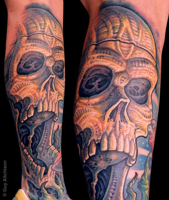 Guy Aitchison - Randy, bio skull