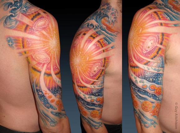 Tattoos - Jamie, big bang cosmology - 72538