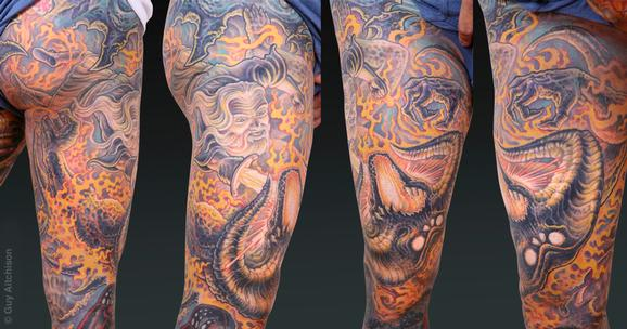 Tattoos - Scott, Gandalf battles the balrog - 72603