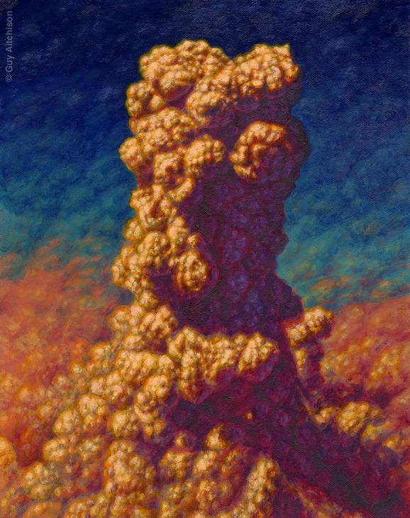 Guy Aitchison - Mud Tower, 1998