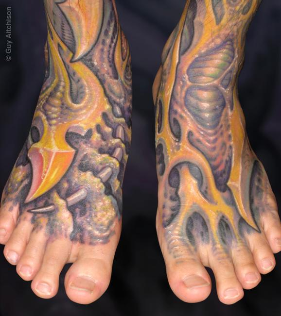 Tattoos - Hiro, bio feet - 72541