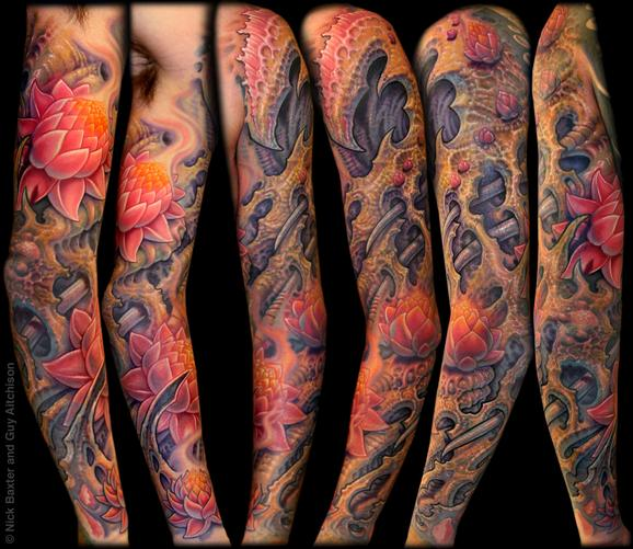 Tattoos - Carson, Collaboration by Nick Baxter and Guy Aitchison - 72441