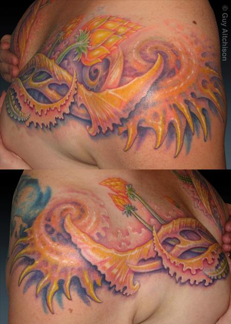 Tattoos - Suzanne, finished coverup - 71543