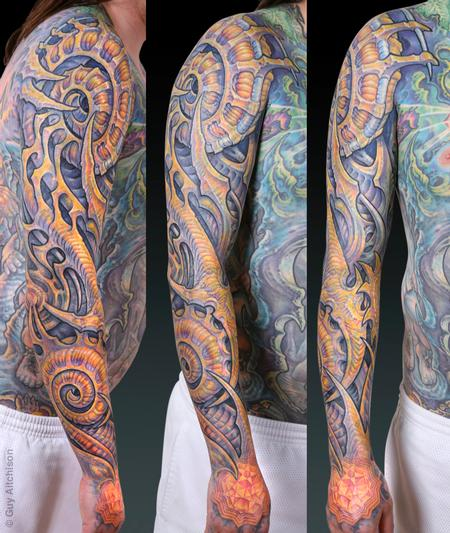 Guy Aitchison - Scott, after 3 tattoo sessions