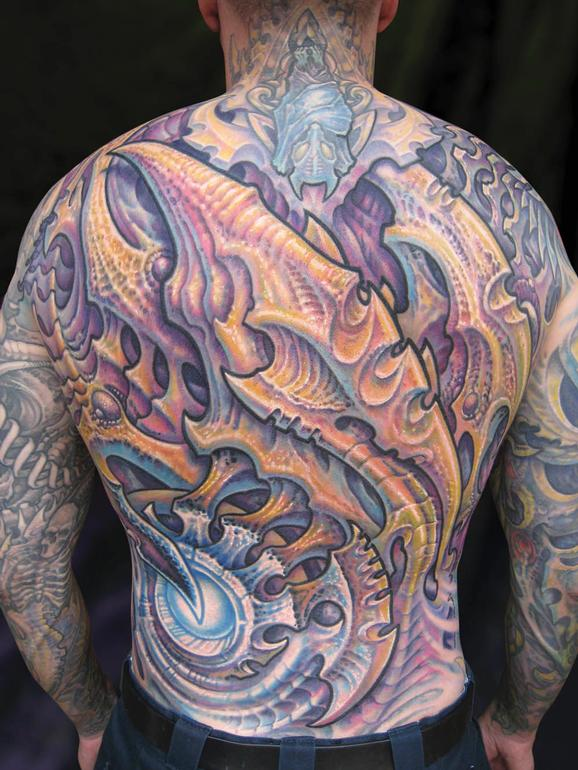 Tattoos - Don, Biomech backpiece - 75933