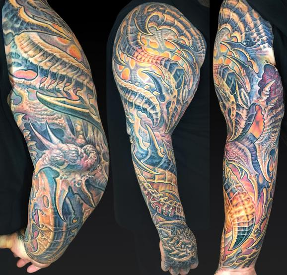 Tattoos - Eric Right Arm Web - 122026
