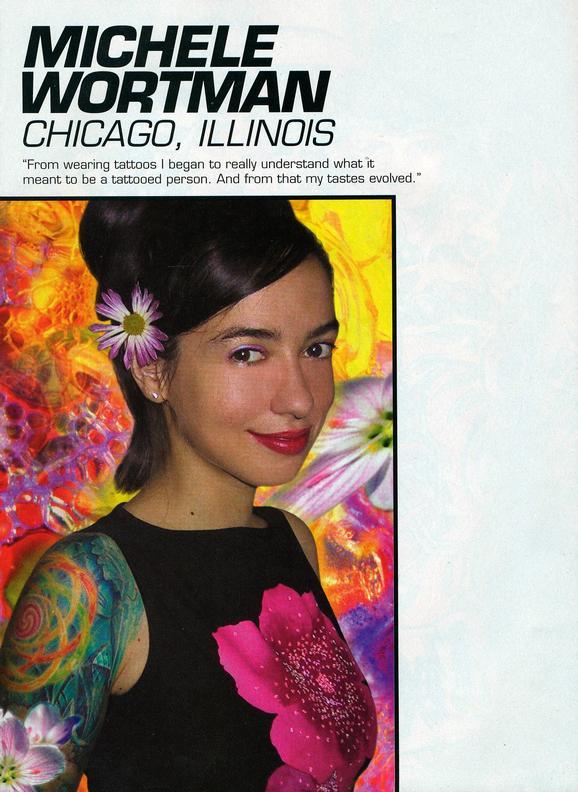 - Wortman Dream Team Feature, Tattoo Magazine, 2001, Page 1