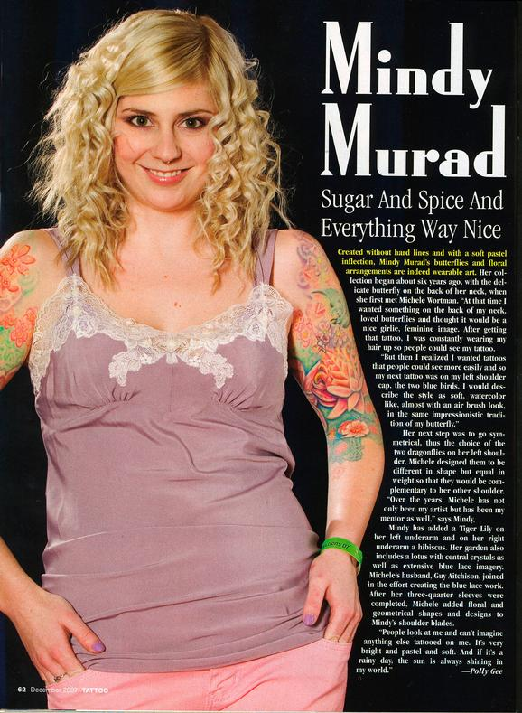 - Wortman - Mindy Feature, Tattoo mag, 2006, Page 1
