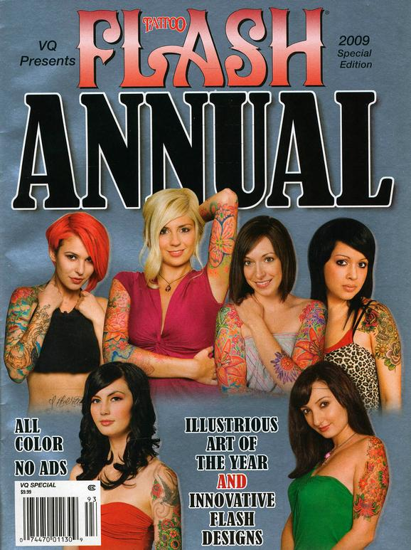 - Wortman - Tattoo Flash Special Edition, 2009, Cover
