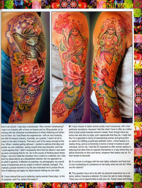 - Wortman - Tattoo Society Magazine, 2010, Page 5