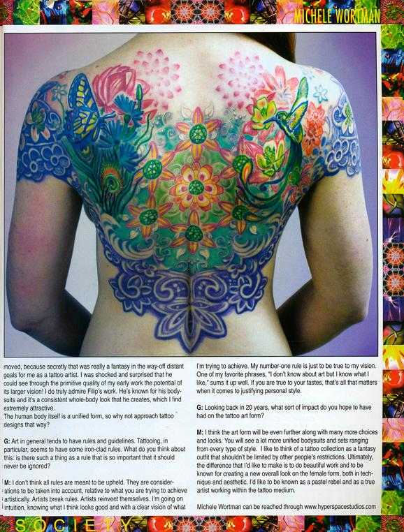 - Wortman - Tattoo Society Magazine, 2010, Page 7
