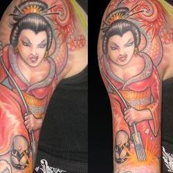 Tattoos - Becky, tattoo geisha - 72597