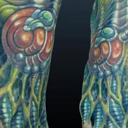 Tattoos - Durb, biomech foot - 72530