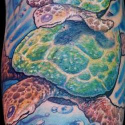 Tattoos - Deana, Collaboration by Judy Parker and Guy Aitchison - 72443