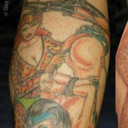 Tattoos - Hiro, before lasering - 71544