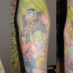 Tattoos - Scott, full sleeve after 4 laser sessions - 71551