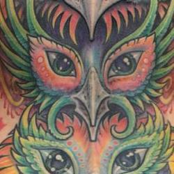 Tattoos - Morgan Back Web - 122034