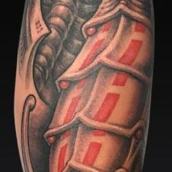 Tattoos - Black and Gray Bio - 122009