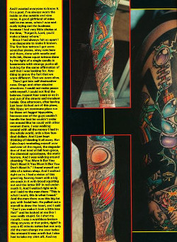 Tattoos - Tattoo Revue Magazine- Jackson Feature, 1990 - Page 3 - 71597