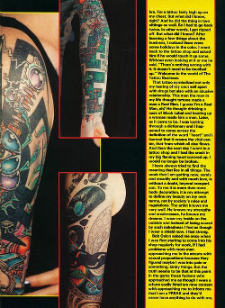 Tattoos - Tattoo Revue Magazine- Jackson Feature, 1990 - Page 4 - 71596