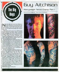 Tattoos - Prick Magazine, 2001, Page 1 - 72148