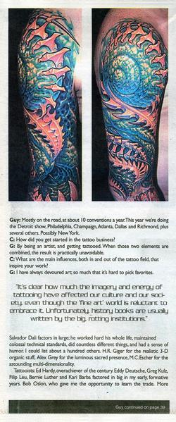 Tattoos - Prick Magazine, 2001, Page 2 - 72147