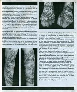 Tattoos - Prick Magazine, 2001, Page 3 - 72146
